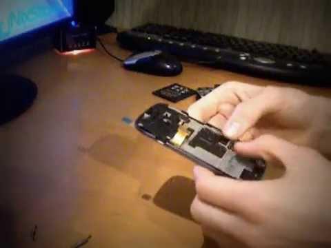Samsung Galaxy S3 Mini - Распаковка и установка экрана [Посылка №1]