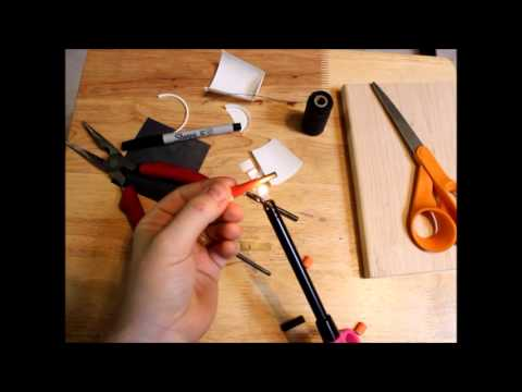 Making a Practice Chanter Reed