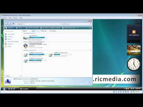 Perform Disk Check on Windows Vista