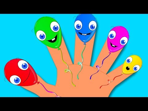 Balloon Finger Family | Nursery Rhyme | Song for Children and Babies