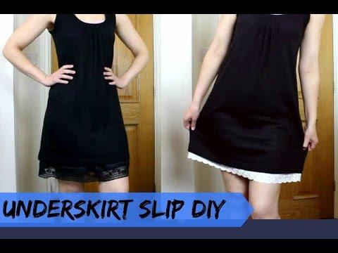 Underskirt Slip ( For Skirts Too Short)