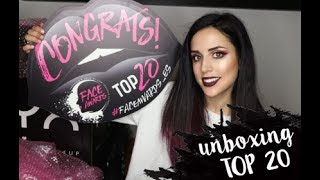 Unboxing Nyx Professional Makeup Spain Face Awards 2018 Top 30
