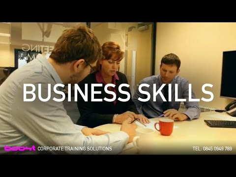 Business Skills e-modules by BOOST Corporate Training