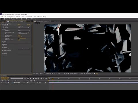 Shatter Effect in Adobe After Effects TUTORIAL (NO DOWNLOAD)