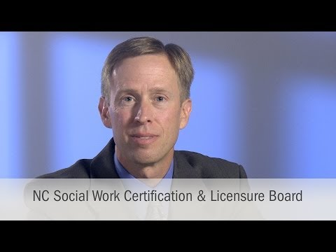 NC Social Work Certification & Licensure Board
