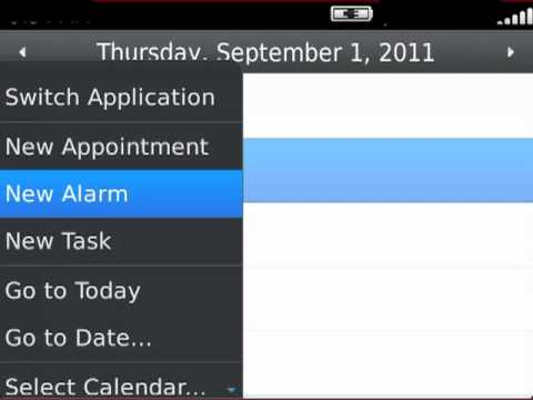 Using multiple calendars on your BlackBerry smartphone