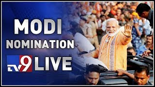 PM Modi Nomination LIVE @ Varanasi - TV9