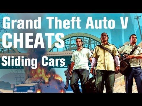 GTA 5 Cheats - Sliding Cars