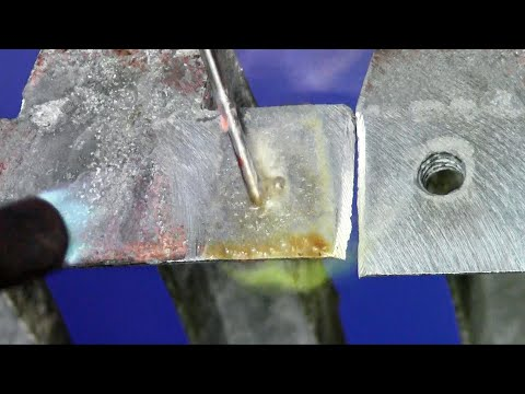 Pot Metal and Zinc Die Cast Repairs Made Easy With Super Alloy 1 from Muggyweld.com