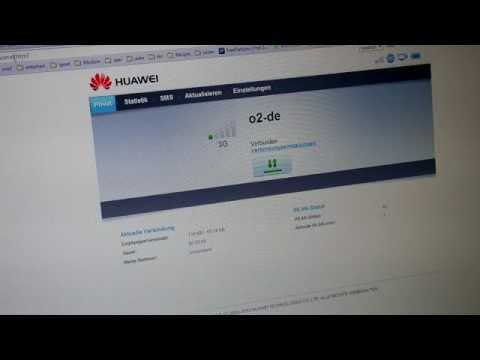 Huawei E5220 mobiler Wifi WLAN-Router - Software
