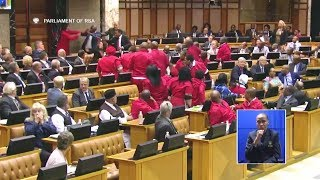 BIG FIGHT In Parliament - EFF vs DA And AGANG - Watch It All