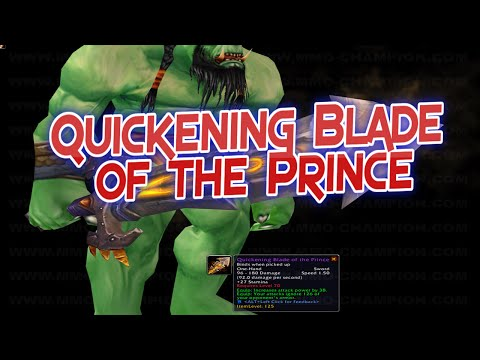 Best Transmog Weapons Ep.3: Quickening Blade of the Prince