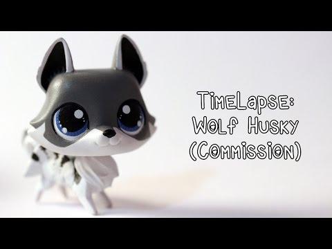 Timelapse: Wolf Husky (Commission) LPS Custom