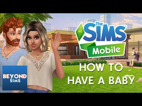 HOW TO HAVE A BABY TUTORIAL | The Sims Mobile