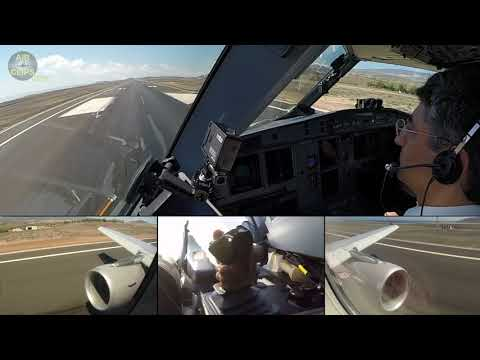 MUST SEE, MOST BEAUTIFUL!!! Windy A320 Landing with UNIQUE views!!! [AirClips]