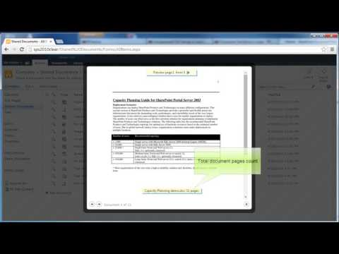SharePoint 2010: Websio Document Preview