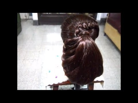 A Beautiful and Classy Braids Hairstyle for medium and long hair.