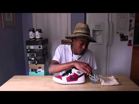 How To Clean Sneakers (Sidewall)