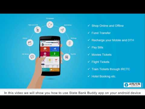 State Bank Buddy App: Add/ Send Money, Recharge & Pay Bill (Hindi) (Created as on January 2017)