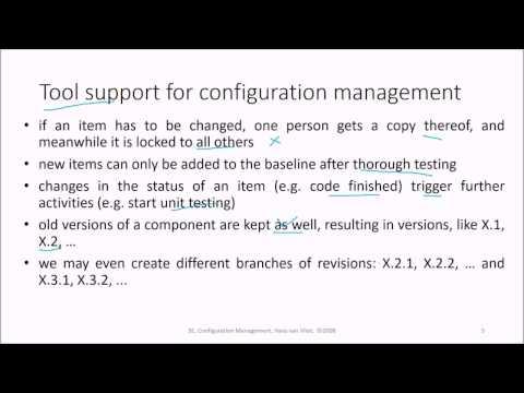 4 Software Engineering Configuration Management