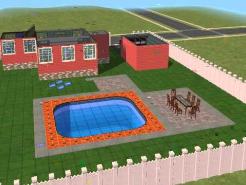 Creating the ULTIMATE Backyard on The Sims 2 Part 1 (Your gonna need a lot of Simolouns for this 1)