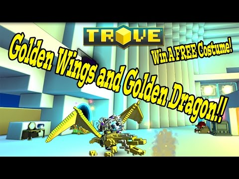 Trove: GOLD EVERYTHING! WIN A FREE COSTUME!