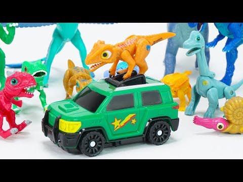 Dino Mecard New Capture Car Steno & Delta Deltadromeus! | ToyMoon