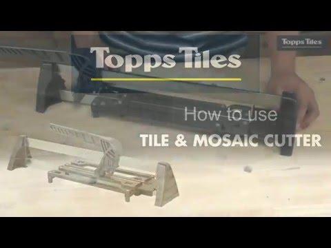 Topps Tiles Tile & Mosaic Cutter 330mm