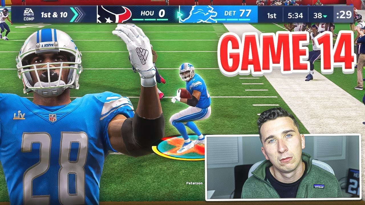 When I lose with the Lions the video ends...