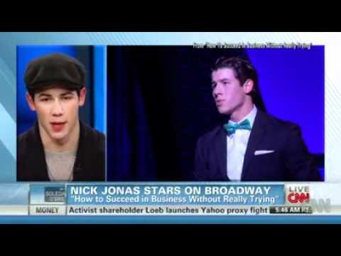 Nick Jonas Stars in Broadway musical