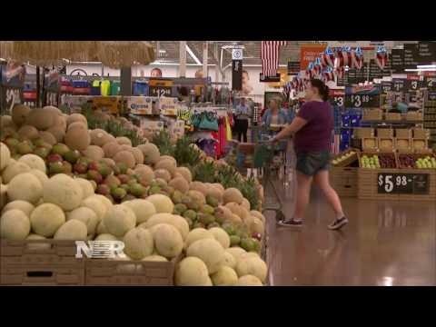 Walmart stock falls on Amazon news