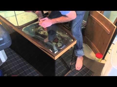 # 1795 Bow Front Repair Part One Carls Aquarium