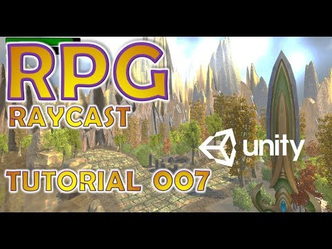 How To Make An RPG In Unity - Beginners Tutorial - Part 007 - Raycast & UI