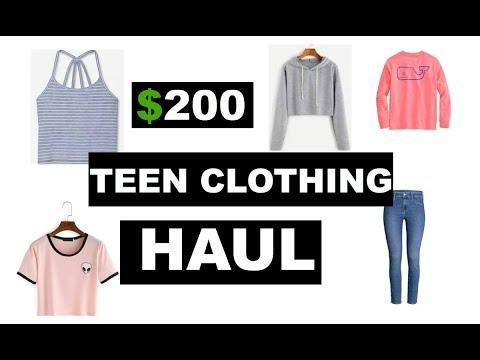 TEEN CLOTHING HAUL ***CRAZY***