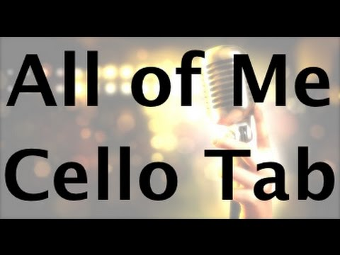 Learn All of Me on Cello - How to Play Tutorial