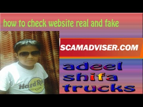 [hindi/urdu] How to Check scam Earning sitefake siteScamadviser 2018