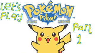 Pokemon Yellow - Part 1 - The story of me and ASSHAT
