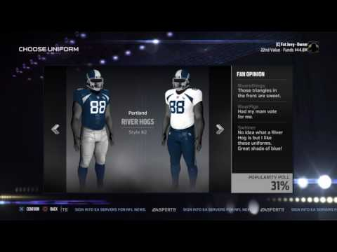 Madden 17:How to Make Your Own Team#7