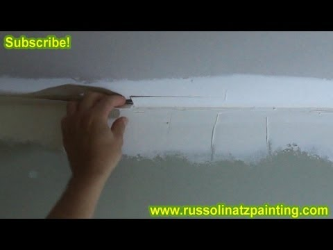 Fixing a Bad Tape Job - (Part 1) Drywall Repair & Wall Preparation