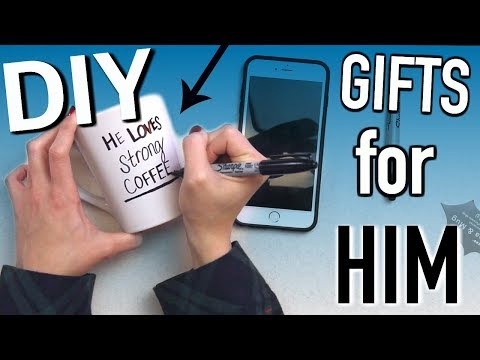 DIY Gifts For Your Boyfriend! Gift Ideas to Make Him
