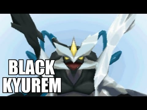 Pokemon Black 2 - Kyurem Transforms into Black Kyurem [HD]