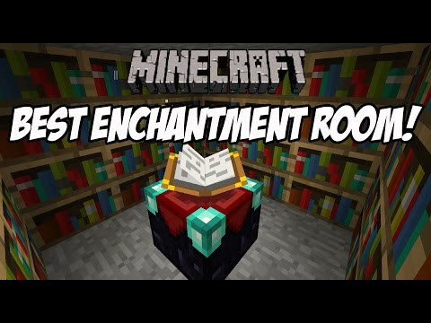 HOW TO BUILD WORLDS BEST ENCHANTMENT ROOM IN MINECRAFT!! ALWAYS LVL 30! GIVEAWAY AT 100 SUBSCRIBERS!