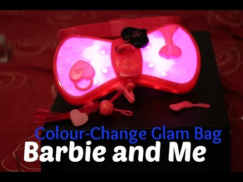 Review of Barbie and Me Colour Change Glam Bag
