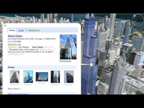 Viewing Cities in 3-D Using Google Earth: Ep. 148