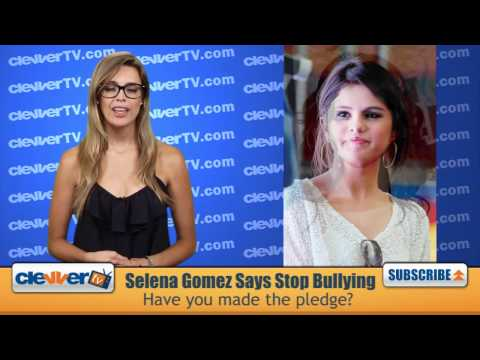 Selena Gomez Signs Stop Bullying Pledge