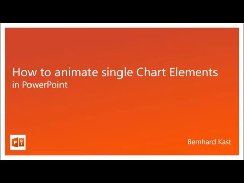 How to animate each Element in a Chart in PowerPoint