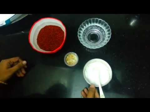 Ragi Porridge for babies (Tamil) with english sub titles