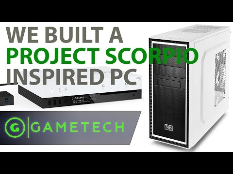How a PC with Xbox Scorpio Specs Performs - GameTech