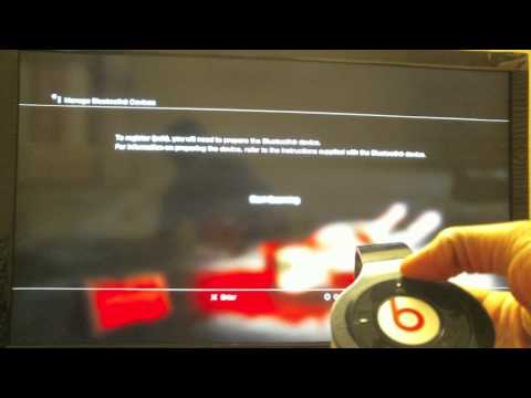 Use Your wireless beats by dre on PS3 as a headset for online gaming