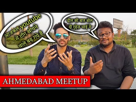 QnA Talk About Youtube Today : Ahmedabad Meetup With Techno Ruhez & iTech